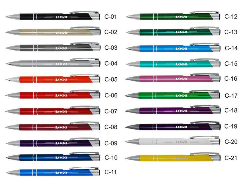 długopis kolor + grawer
